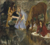 "Art Prints of Portrait of Mlle Fiocre in the Ballet, ""The Force"" by Edgar Degas"