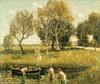 Art Prints of Boys Bathing by Ernest Lawson