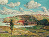 Art Prints of Shadows, Spuyten Duyvil Hill by Ernest Lawson