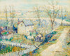 Art Prints of Squatters Huts, Harlem River by Ernest Lawson