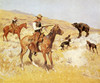 Art Prints of His Last Stand by Frederic Remington