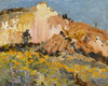 Art Prints of Chamisal at Echo Canyon by Fremont Ellis