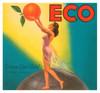Art Prints of 021 Eco Valencia Enrique Giner Vidal, Fruit Crate Labels