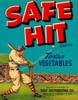 Art Prints of 018 Safe Hit Texas Vegetables, Fruit Crate Labels
