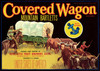 Art Prints of 028 Covered Wagon Bartletts, Fruit Crate Labels