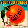 Art Prints of  Art Prints of 059 Eduardo Rosello Gallant, Fruit Crate Labels