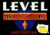 073 Level Brand Lemons, Fruit Crate Labels | Fine Art Print