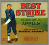 065 Best Strike Pajaro Valley Apples, Fruit Crate Labels | Fine Art Print