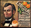 066 Lincoln Brand, Fruit Crate Labels | Fine Art Print