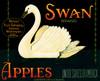 077 Swan Apples, Fruit Crate Labels | Fine Art Print