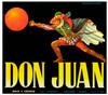 099 Don Juan, Fruit Crate Labels | Fine Art Print