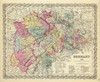 Germany, No. 2, 1856 (0149080) by G.W. Colton | Fine Art Print