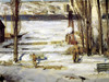 A Morning Snow, Hudson River, 1910 by George Bellows | Fine Art Print