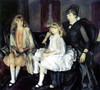 Emma and her Children by George Bellows | Fine Art Print