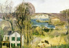 Hudson at Saugerties by George Bellows | Fine Art Print