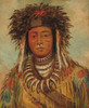 Art Prints of Boy Chief Ojibbeway by George Catlin