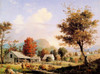 Art Prints of Cider Pressing by George Henry Durrie