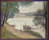 Art Prints of Gray Weather, Grande Jatte by Georges Seurat