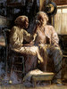 Art Prints of Couple in an Interior 1902 by Harry Roseland