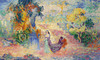 Art Prints of Lady in the Park by Henri-Edmond Cross