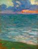 Art Prints of Seaside at Sunset by Henri-Jean Guillaume Martin