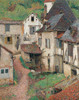 Art Prints of Saint-Cirq-Lapopie II by Henri-Jean Guillaume Martin
