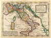 Art Prints of Italy, 1736 (5580025) by Herman Moll