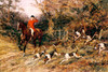 Art Prints of Calling the Hounds Out of Cover by Heywood Hardy