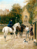 Art Prints of Morning Ride by Heywood Hardy