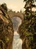 Art Prints of Pont d'Epagne or Pont d'Espagne, Cauterets, Pyrenees, France (387531)