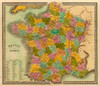 Art Prints of France in Departments, 1840 (4850009) by Jeremiah Greenleaf