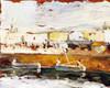 Art Prints of Fishing Port at San Sebastian by Joaquin Sorolla y Bastida