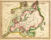 Art Prints of Elementary Map, 1820 (4519001) by Joseph Myer Hughes and John Melish