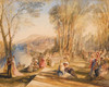 Art Prints of Palace of La Belle Gabrielle by Joseph Mallord William Turner