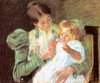 Art Prints of Pattycake by Mary Cassatt