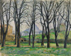 Art Prints of Chestnut Trees at Jas de Bouffan by Paul Cezanne