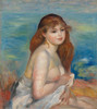 Art Prints of After Bath by Pierre-Auguste Renoir