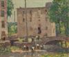 Art Prints of Repairing the Bridge by Robert Spencer
