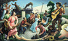 Art Prints of The Source of Country Music by Thomas Hart Benton