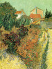 Art Prints of Garden with Flowers, No. 3, 1888 by Vincent Van Gogh