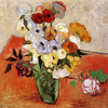 Art Prints of Japanese Vase with Roses and Anemonies by Vincent Van Gogh