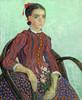 Art Prints of La Mousme by Vincent Van Gogh