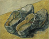 Art Prints of Pair of Clogs by Vincent Van Gogh