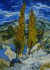 Art Prints of Poplars at Saint Remy by Vincent Van Gogh