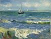 Art Prints of Seascape near Les Saintes Maries de la Mer by Vincent Van Gogh
