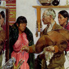 Art Prints of Portrait Painting of an Indian Woman by Walter Ufer