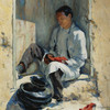 Art Prints of Red Moccasins by Walter Ufer
