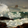 Art Prints of On a Lee Shore by Winslow Homer