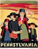 Art Prints of Rural Pennsylvania, 1938, WPA Poster