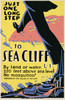 Art Prints of Just One Long Step to Sea Cliff (399449), Travel Poster